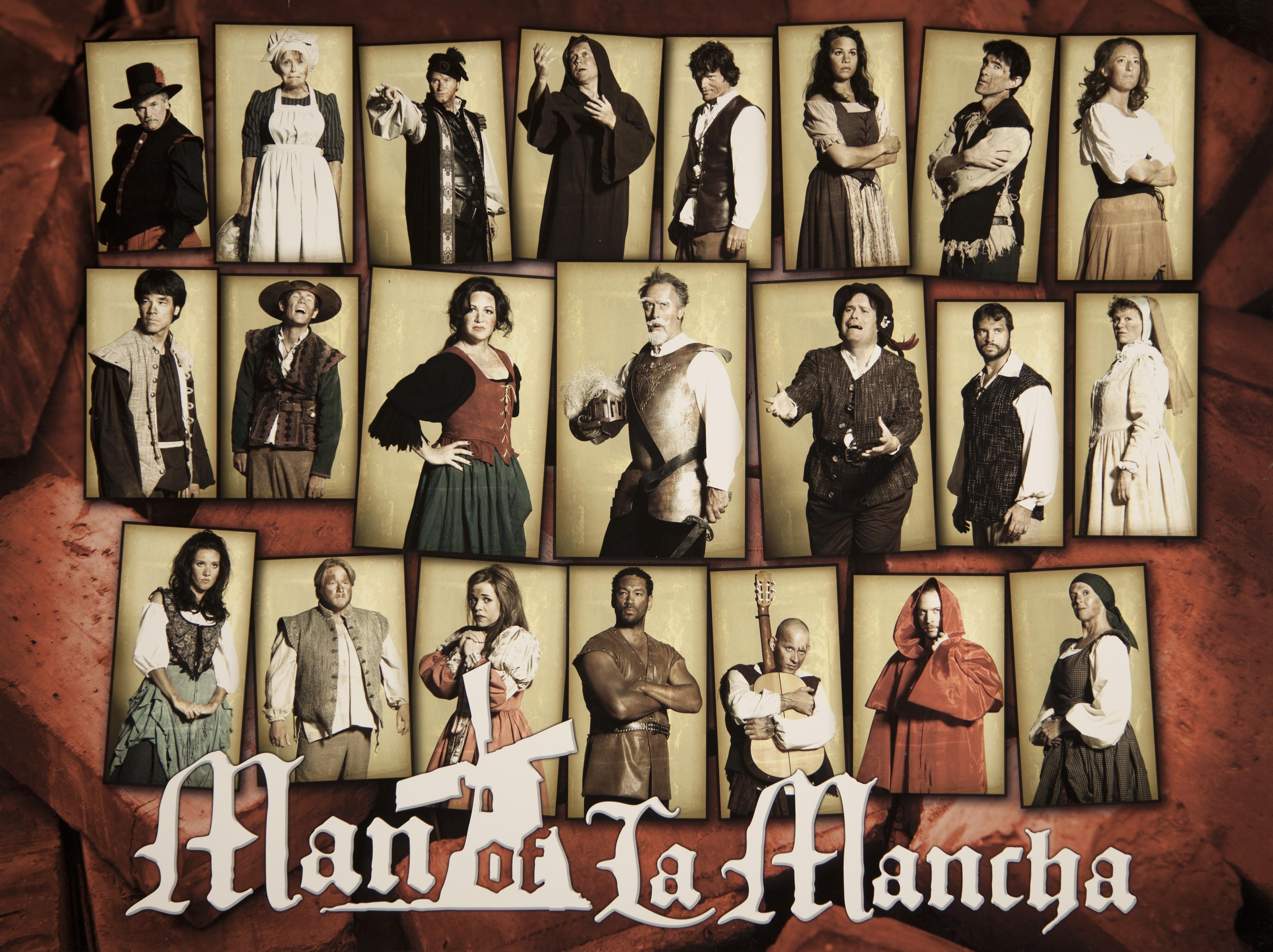 Hale Centre Theatre's 2006 Man of La Mancha Cast