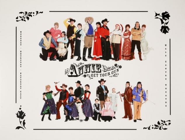 Hale Centre Theatre's 2008 Annie Get Your Gun Cast