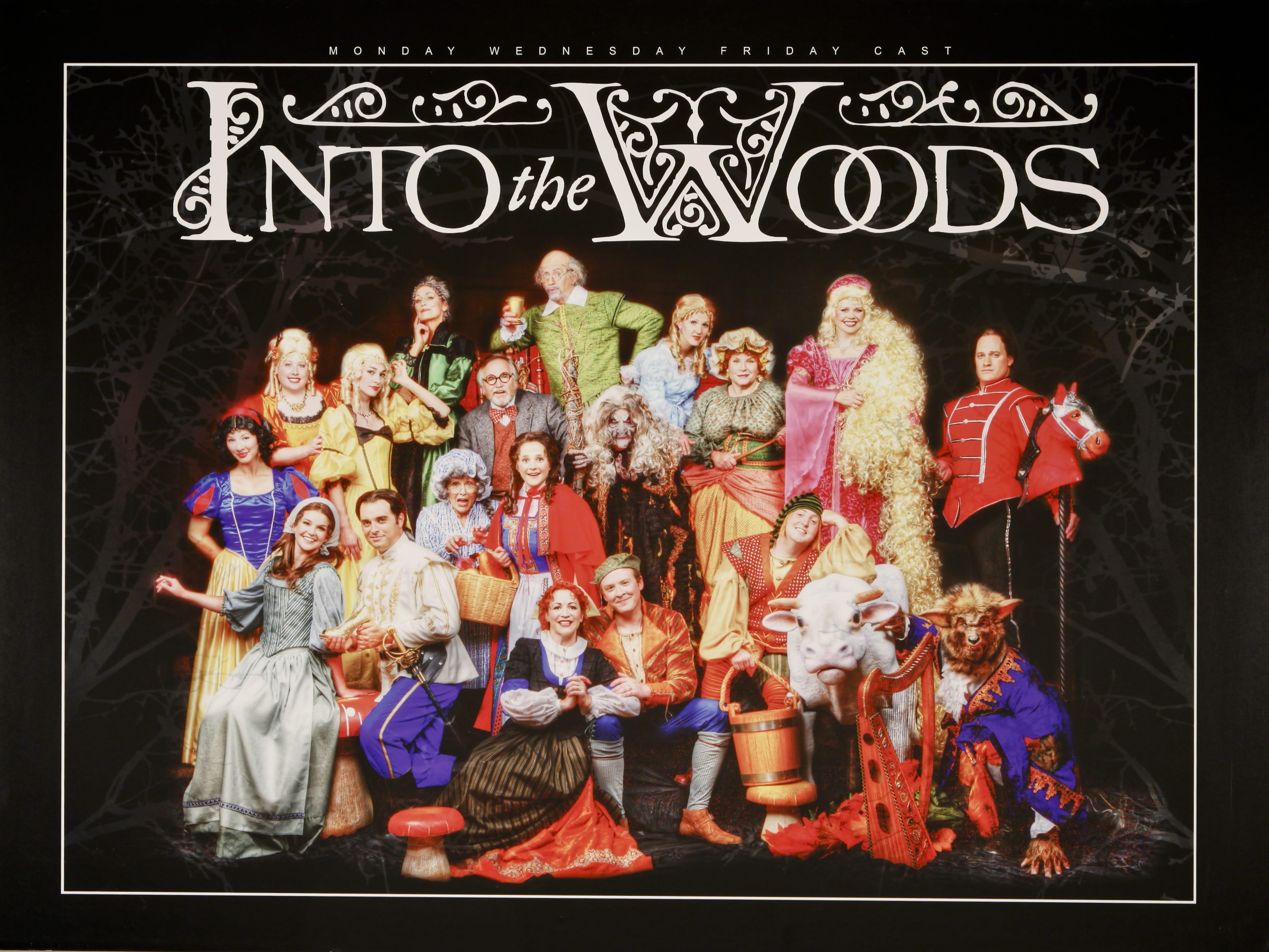 Hale Centre Theatre's 2008 Into the Woods Cast