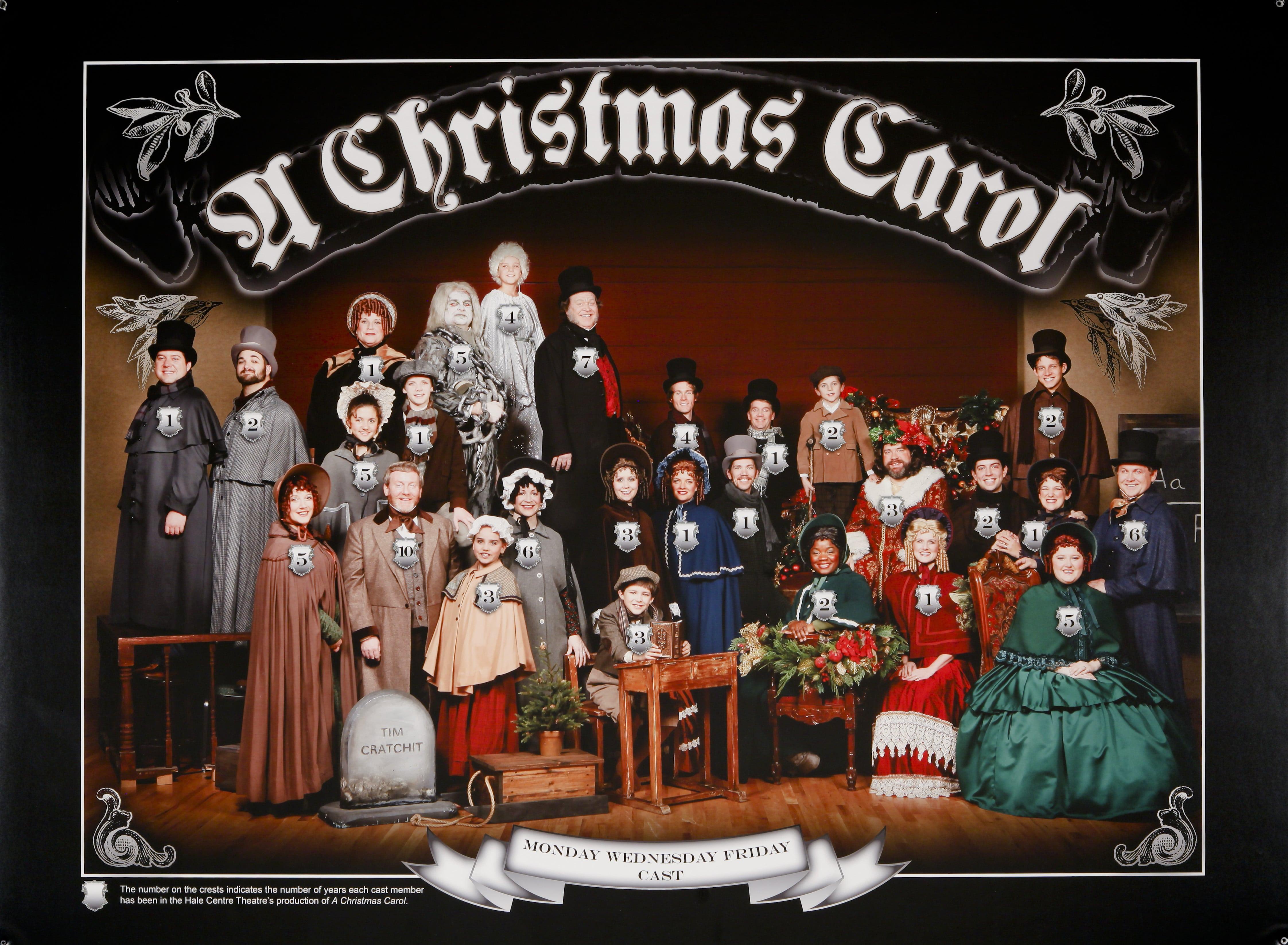 Hale Centre Theatre's 2009 A Christmas Carol Cast