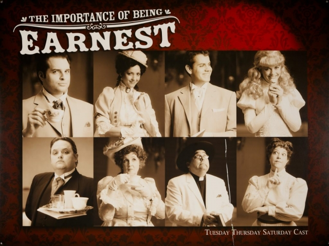 Hale Centre Theatre's 2010 The Importance of Being Earnest Cast