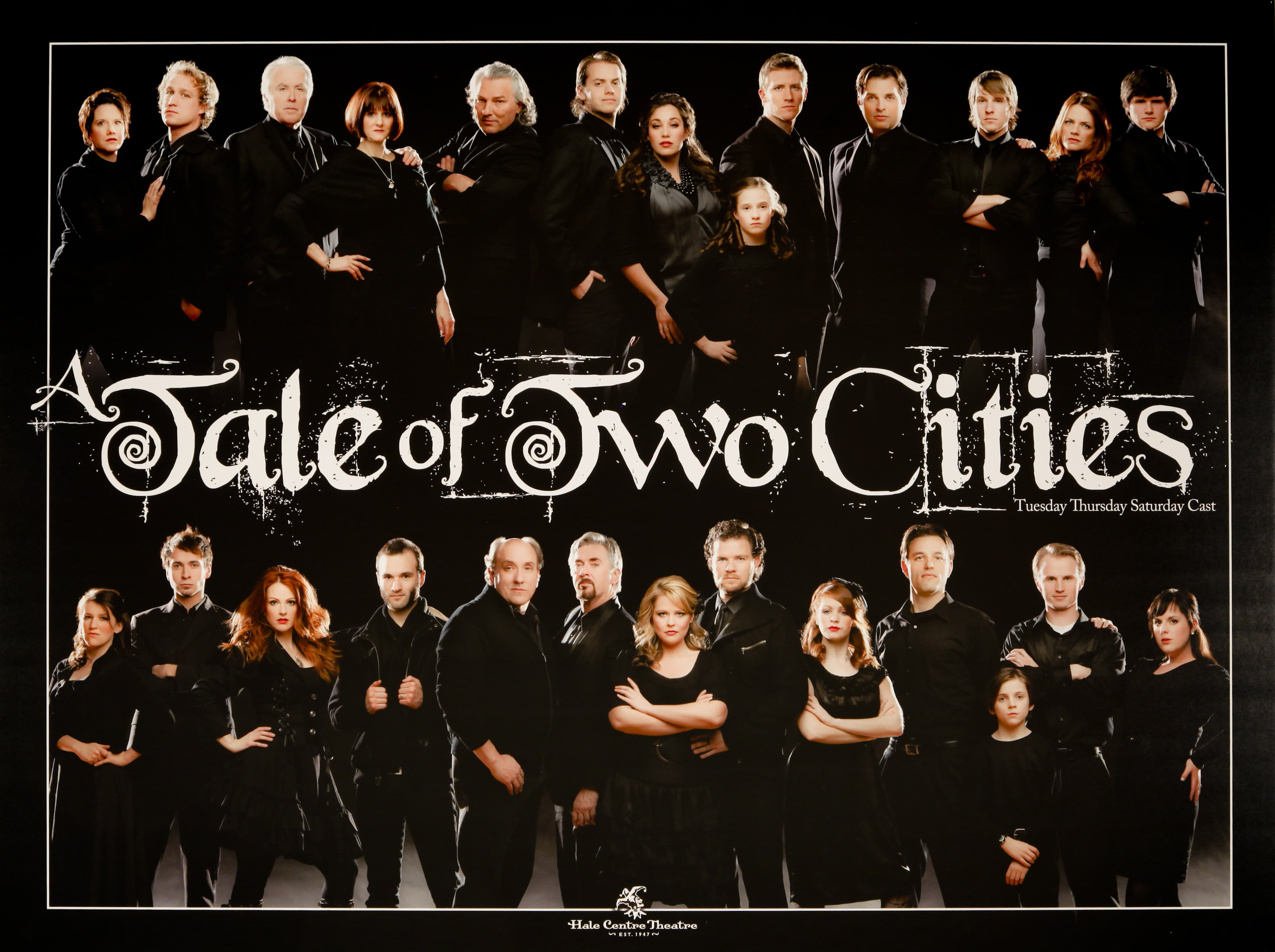 Hale Centre Theatre's 2011 Tale of Two Cities Cast